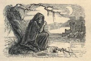 Imagen de banshee cuyo autor es W.H. Brooke y publicada en Wikimedia Commons. http://commons.wikimedia.org/wiki/File:Banshee.jpg